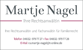 Martje Nagel - Ihre Rechtsanwältin und Notarin